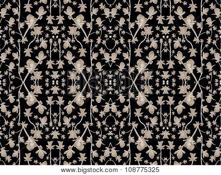 Geometric Modern Floral Pattern