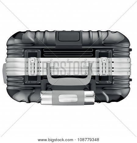 luggage for travel, top view