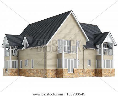 Large two storey villa