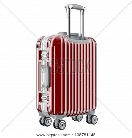 Baggage travel red