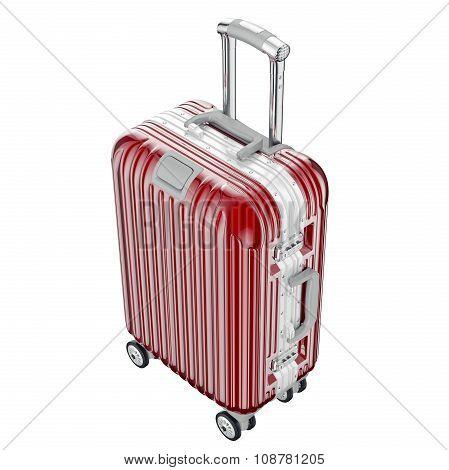 Large luggage on wheels
