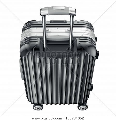 Baggage with long handle