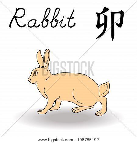 Eastern Zodiac Sign Rabbit