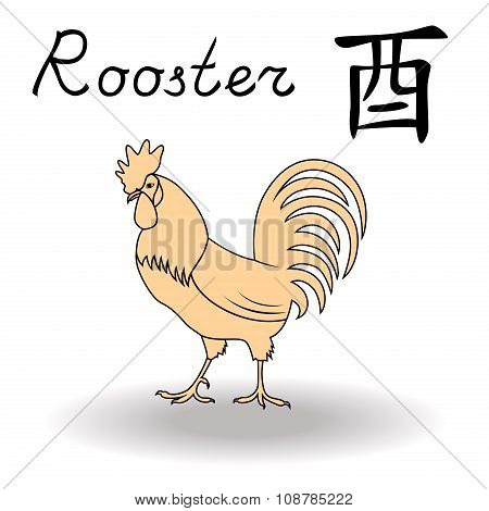 Eastern Zodiac Sign Rooster