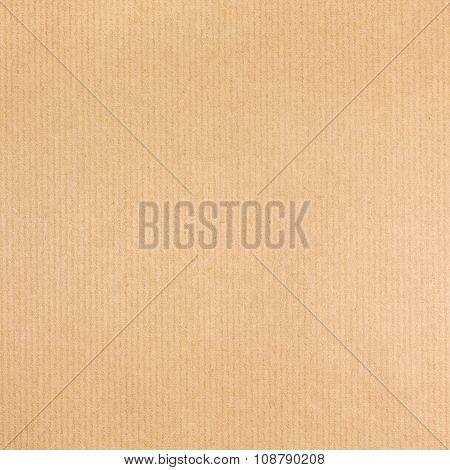 Striped Brown Craft Paper Texture Background