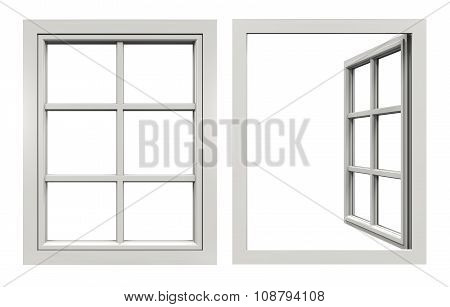 Window Open and Closed