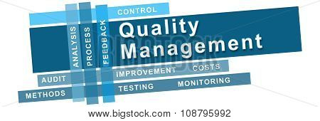 Quality Management Blue Stripes