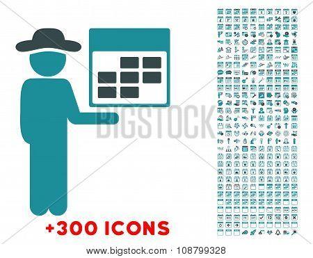 Man Organizer Icon