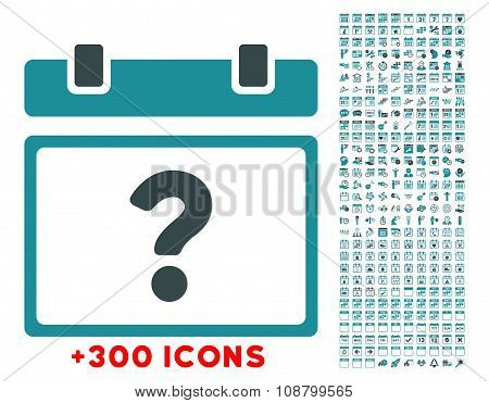 Unknown Date Flat Icon