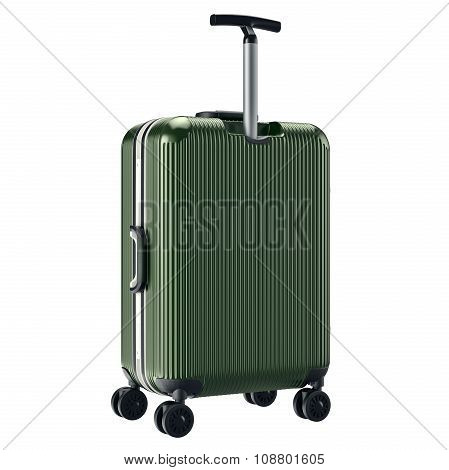 Luggage travel green
