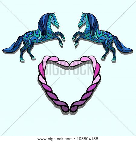 Horse And Heart