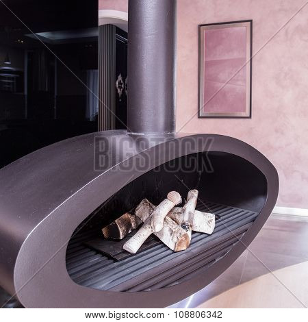 Modern And Tasteful Fireplace