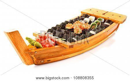 Set of Sushi roll
