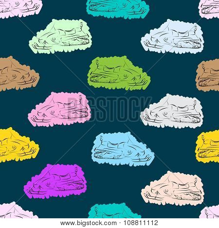 Seamless color painted snowmobiles