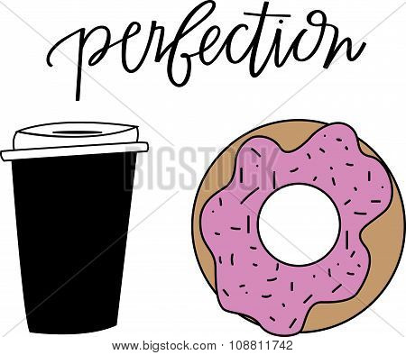 Coffee and Donut Perfection