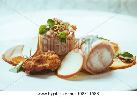 Delicious Dish With Parma Ham