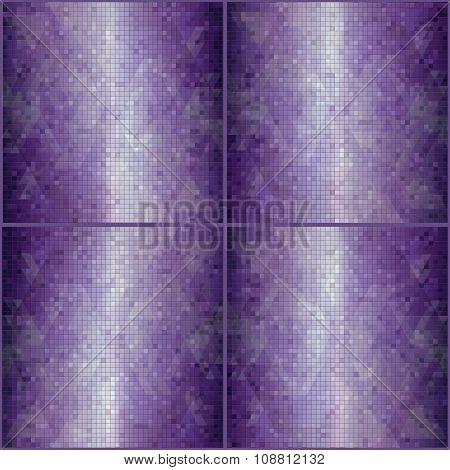 mosaic purple background