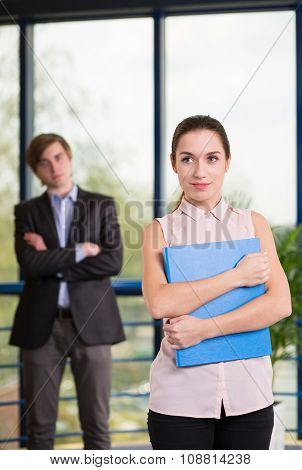 Employees Smartly Dressed