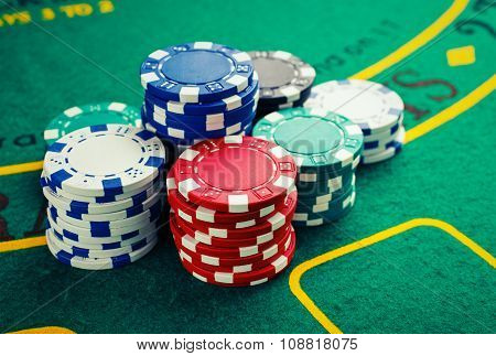 chips for poker