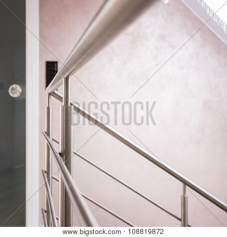 Silver Railing And Doors