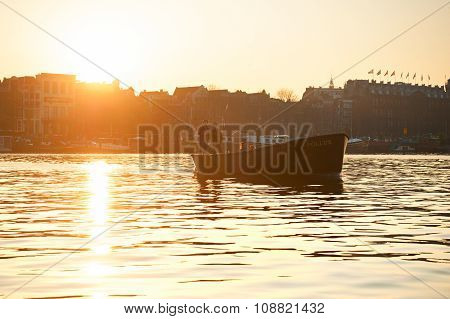 Boat Trip, Amsterdam