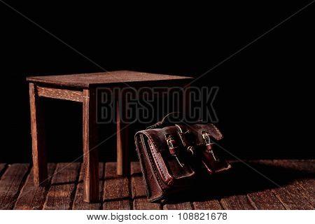 Table And Bag