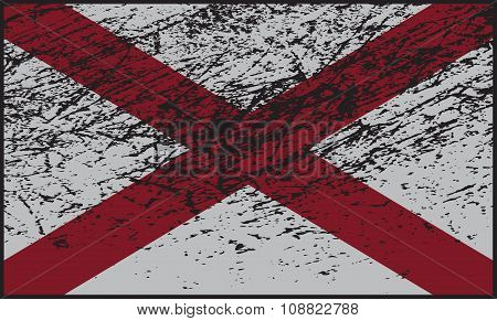 Northern Ireland Flag Grunged
