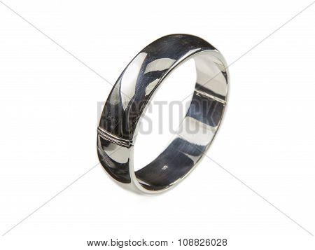 Robust Silver Bracelet
