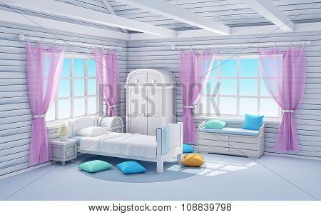 White Dream Bedroom