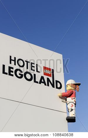 Legoland hotel in Billund, Denmark