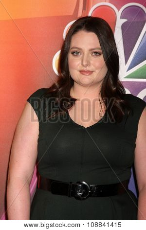 LOS ANGELES - NOV 17:  Lauren Ash at the Press Junket For NBC's