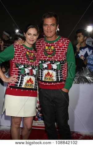 LOS ANGELES - NOV 17:  Michael Shannon, Kate Arrington at the