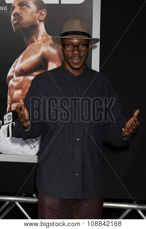 LOS ANGELES - NOV 19:  Wood Harris at the