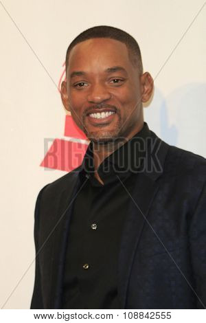 LAS VEGAS - NOV 19:  Will Smith at the 16th Latin GRAMMY Awards at the MGM Grand Garden Arena on November 19, 2015 in Las Vegas, NV