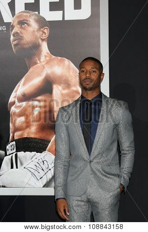 LOS ANGELES - NOV 19:  Michael B. Jordan at the