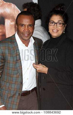 LOS ANGELES - NOV 19:  Sugar Ray Leonard at the