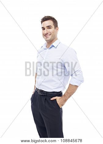 Portrait Of A Caucasian Businessman