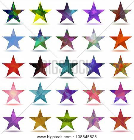 Abstract Triangular Stars