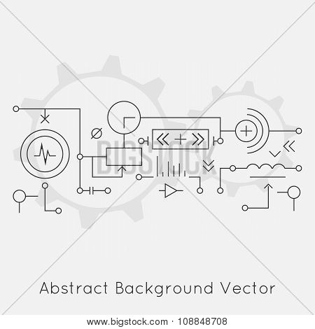 Abstract Background With A Technical System