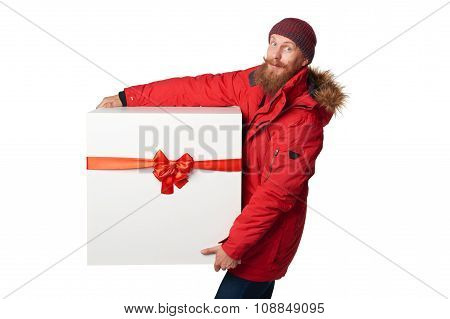 Christmas, x-mas, winter gift concept