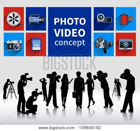 Photo And Video Concept