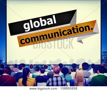 Global Communications Connection Communicate Concept