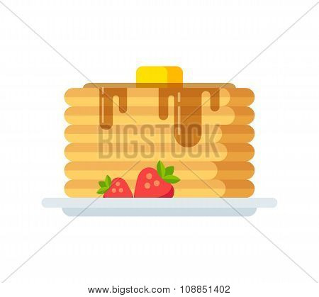 Vector Pancakes Icon
