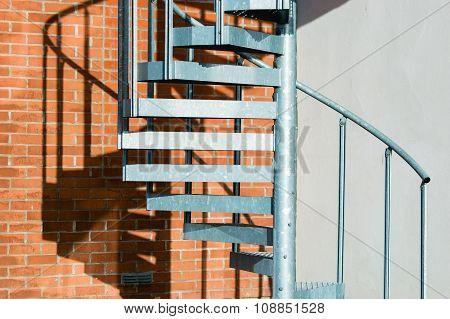 Metal Spiral Stairs