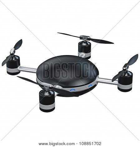 Automatic quadrocopter with camera