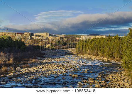 Polar Neva River ...