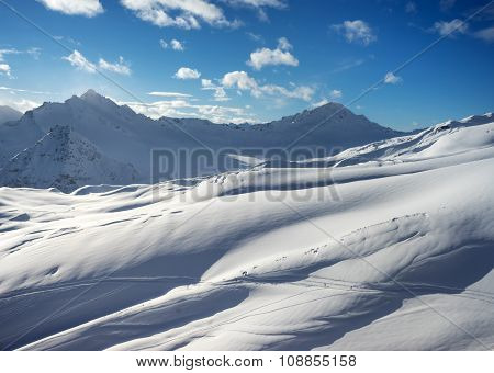 Landscape Of The Mountains On The North Caucasus