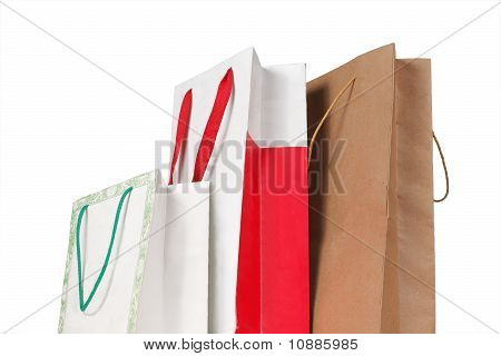 three paper bag