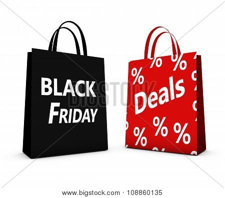 Black Friday Deals Shopping Bags