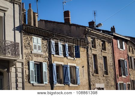 Traditional Buildings From South Of France